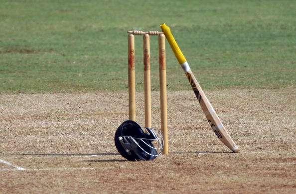 Trinidad and tobago batsman Iraq Thomas smashes a 21-ball T20 century