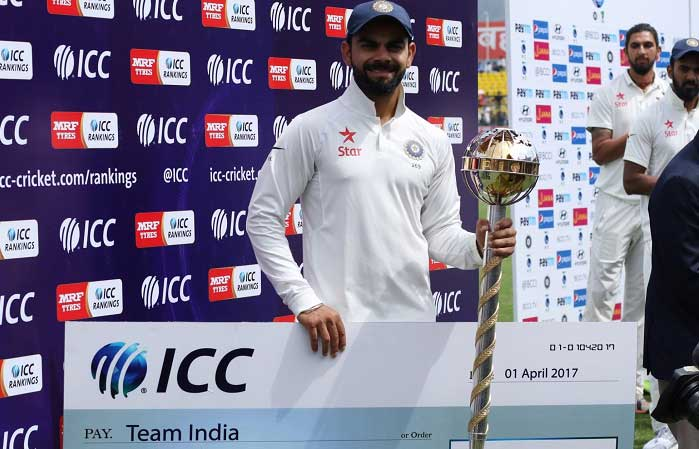 Image for India retain ICC Test championship mace