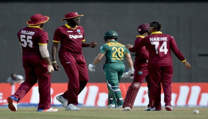 नारायण की फिरकी में नतमस्तक हुआ साउथ अफ्रीका, वेस्टइंडीज 4 विकेट से जीता