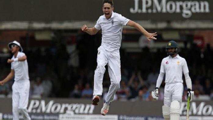 लॉर्ड्स टेस्ट: क्रिस वोक्स का कमाल, लेकिन पाकिस्तान की स्थिति मजबूत