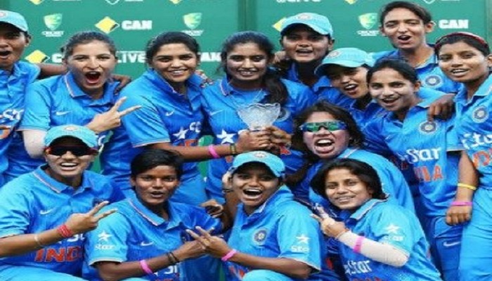 images for Bcci gave women permission to participate in foreign league