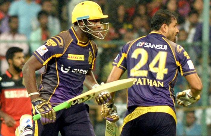 आईपीएल 2016 : यूसुफ पठान का धमाका, कोलकाता ने बेंगलोर को 5 विकेट से दी मात